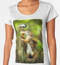 Chipmunk Women's Premium T-Shirt
