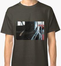 Back side of a classic black car Classic T-Shirt