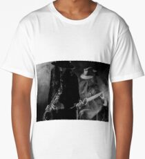 Sax and Guitar Long T-Shirt
