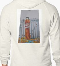The Eight of Swords Zipped Hoodie