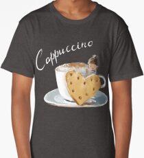 Cup of cappuccino Long T-Shirt