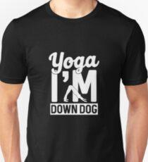 Yoga I'm Down Dog T-Shirt