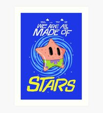 Made of Stars Art Print