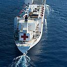 Das Militär Sealift Command Krankenhausschiff USNS Comfort. von StocktrekImages