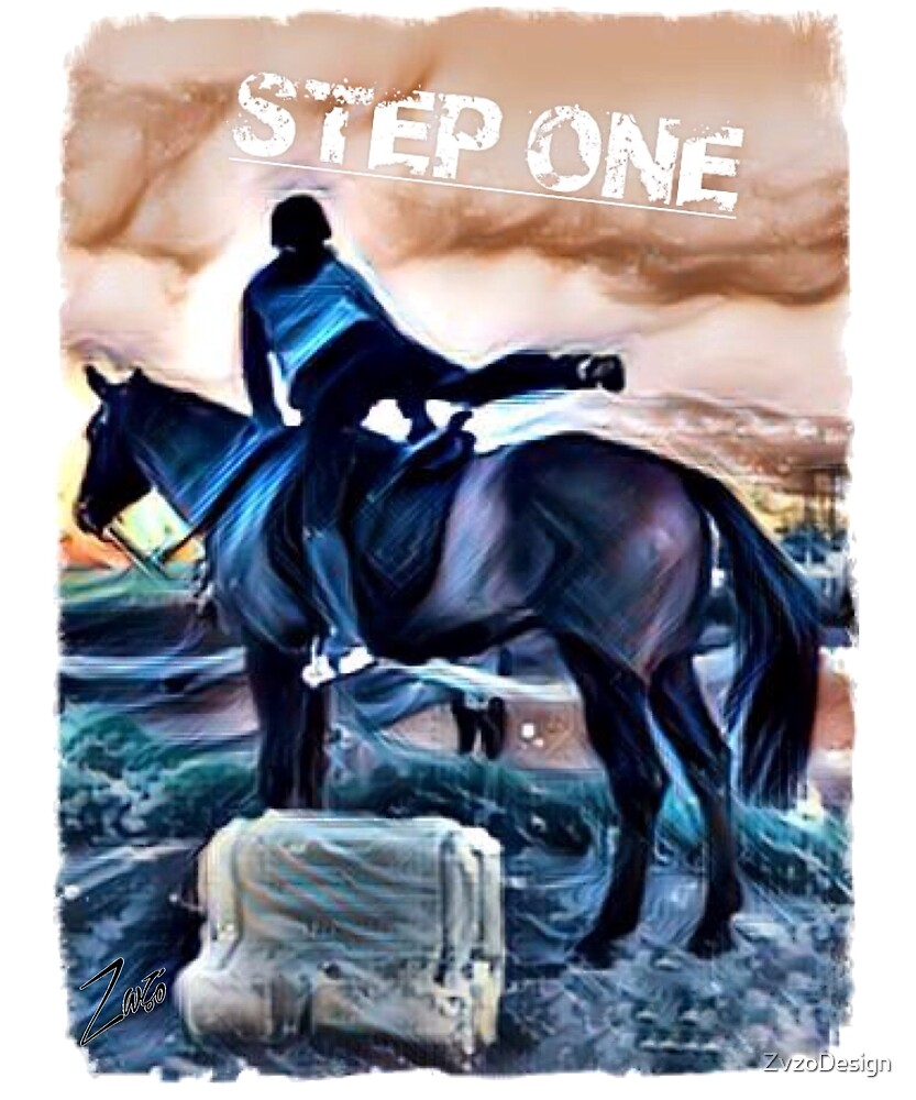 Equestrian Step One by Zvzo by ZvzoDesign