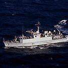Die Royal Navy Mine Gegenmaßnahme Schiff HMS Ramsey. von StocktrekImages