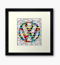 Vw World Framed Print