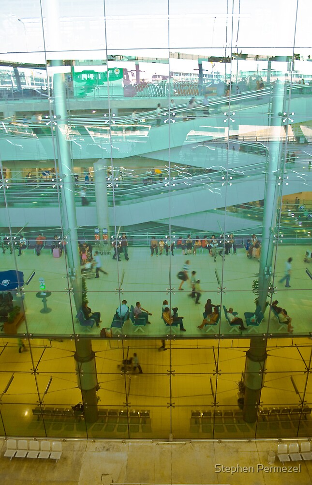 Above and Beyond - Suvarnabhumi Airport, Bangkok by Stephen Permezel