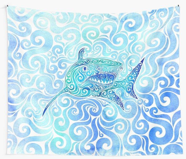 Swirly Shark by SwirlyDesign