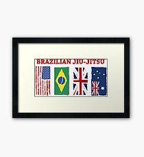 BRAZILIAN JIU-JITSU INTERNATIONL Framed Print