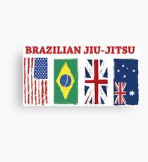 BRAZILIAN JIU-JITSU INTERNATIONL Canvas Print