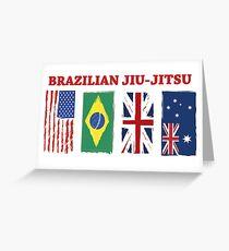 BRAZILIAN JIU-JITSU INTERNATIONL Greeting Card