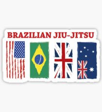 BRAZILIAN JIU-JITSU INTERNATIONL Sticker