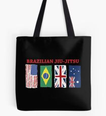 BRAZILIAN JIU-JITSU INTERNATIONL Tote Bag