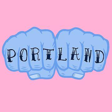 Portland  by MetalDoggy