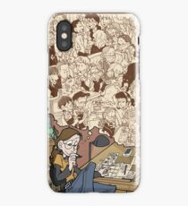 Today Nothing Happened Finale iPhone Case