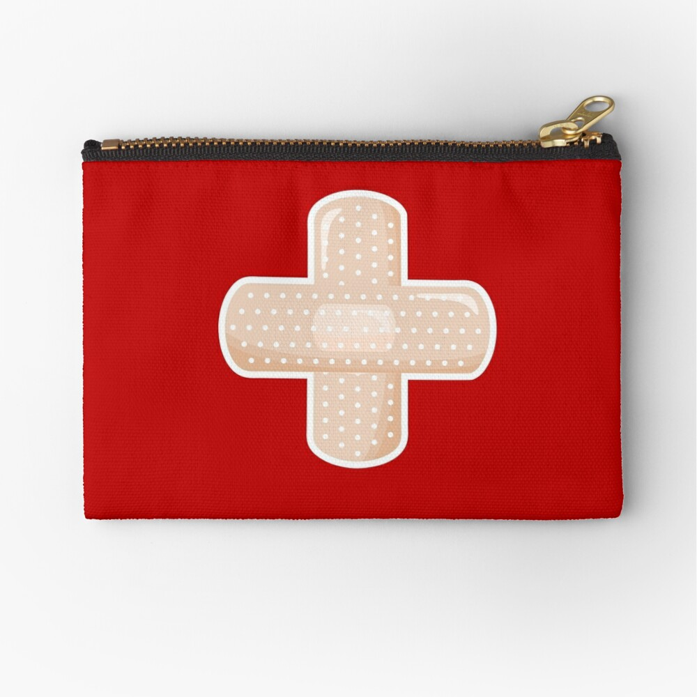 First Aid Plaster Zipper Pouch