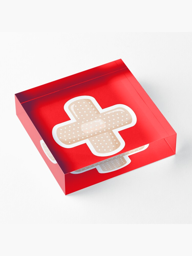 Alternate view of First Aid Plaster Acrylic Block
