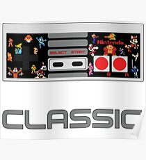 Nintendo Makes Classics Poster