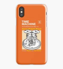 Owners Manual - HG Wells Time Machine iPhone Case/Skin