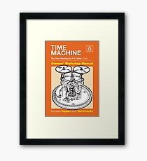 Owners Manual - HG Wells Time Machine Framed Print