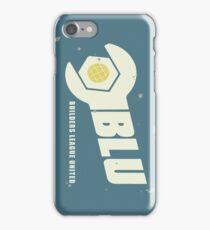 Blu Team Logo iPhone Case/Skin