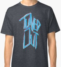 Tuned out -  Neon 80's punk Classic T-Shirt