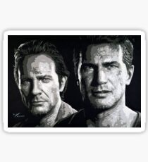 'Brothers Keeper' - Uncharted 4  Sticker