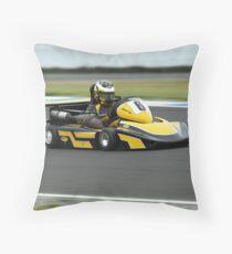 Superkart Superfast Throw Pillow
