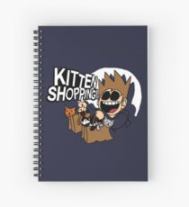 EDDSWORLD KITTEN SHOPPING Spiral Notebook