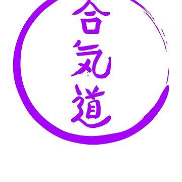 Japanese Symbols T-shirt - Harmony, Energy & Way  by absha2018