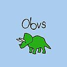 Obvs Triceratops by jezkemp