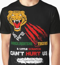 Bangladeshi Tigers - In Tigers We Trust Graphic T-Shirt
