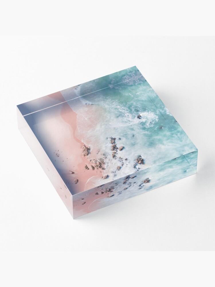 Alternate view of sea bliss Acrylic Block