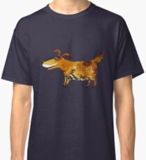 Lovely smiling brown dog Classic T-Shirt