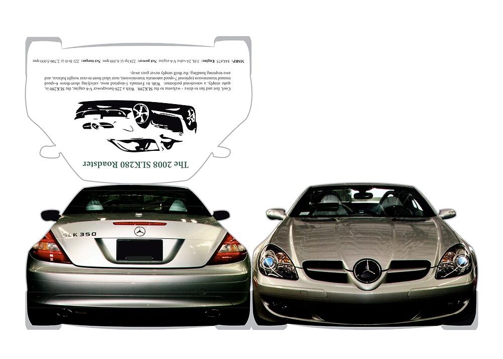 Mercedes-Benz SLK-Class [brochure (2 p., back, front)]  by Alec Hildebrand
