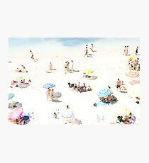 Beach - happy days Photographic Print