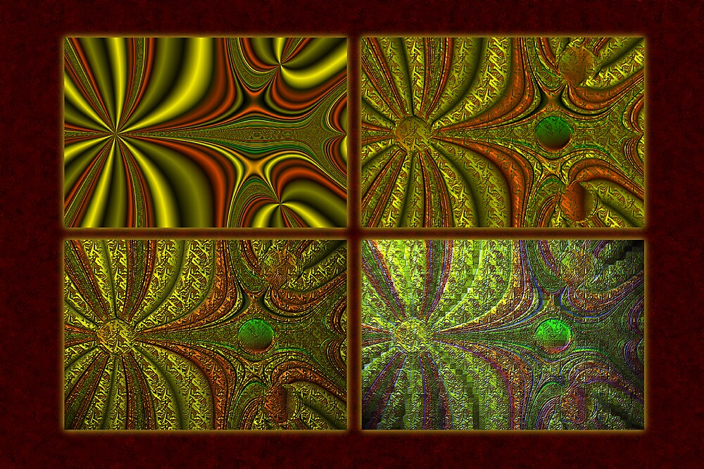 Fractal Evolution 1 by Mike Neal