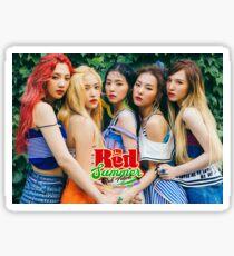 Red Velvet Red Flavor Sticker