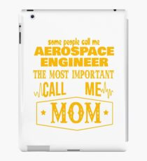 AEROSPACE ENGINEER BEST COLLECTION 2017 iPad Case/Skin