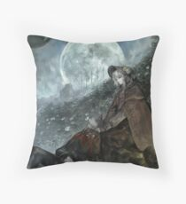 Doll - Bloodborne Throw Pillow