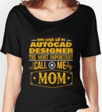 AUTOCAD DESIGNER BEST COLLECTION 2017 Women's Relaxed Fit T-Shirt
