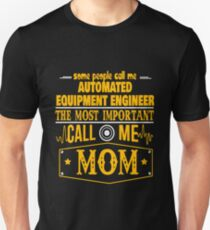 AUTOMATED EQUIPMENT ENGINEER BEST COLLECTION 2017 T-Shirt