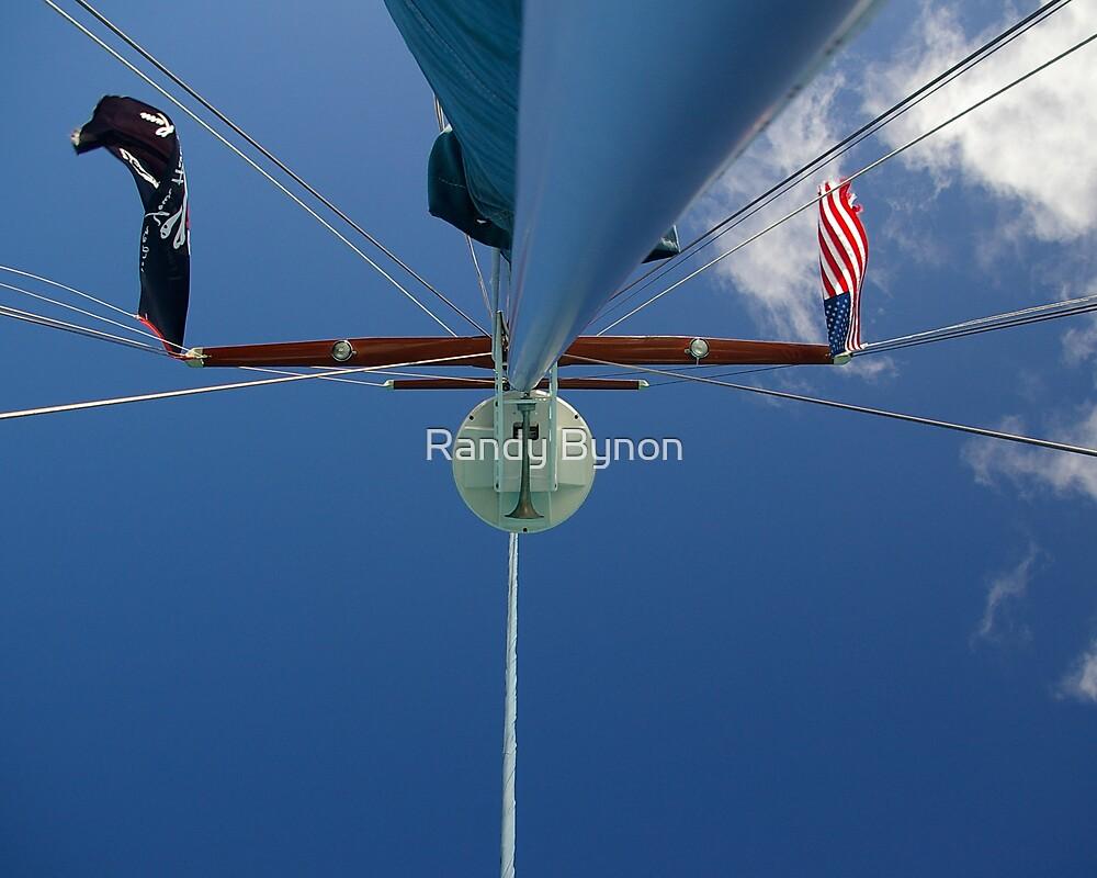 Blue Mast by Randy Bynon