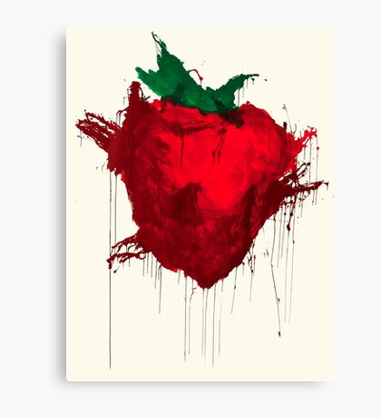 Strawberry from Across the universe Canvas Print