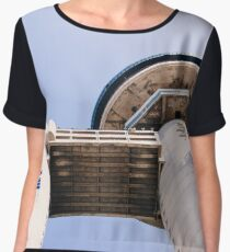 Genex Tower brutalist architecture Women's Chiffon Top