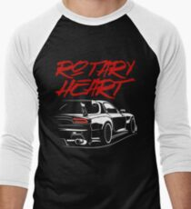 Mazda RX-7 FD3S Men's Baseball ¾ T-Shirt