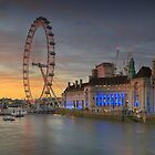 London Eye by Delfino