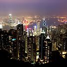 Hong Kong city lights by demistified