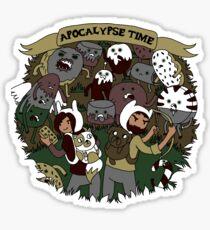 Apocalypse Time! Sticker